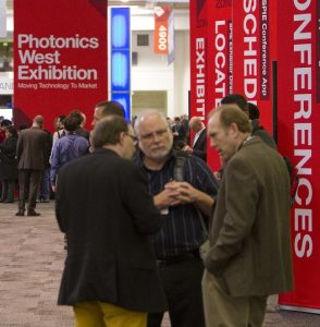 SPIE Photonics West 2018 floor